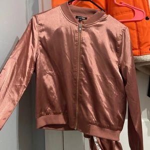 Silk jogging suit